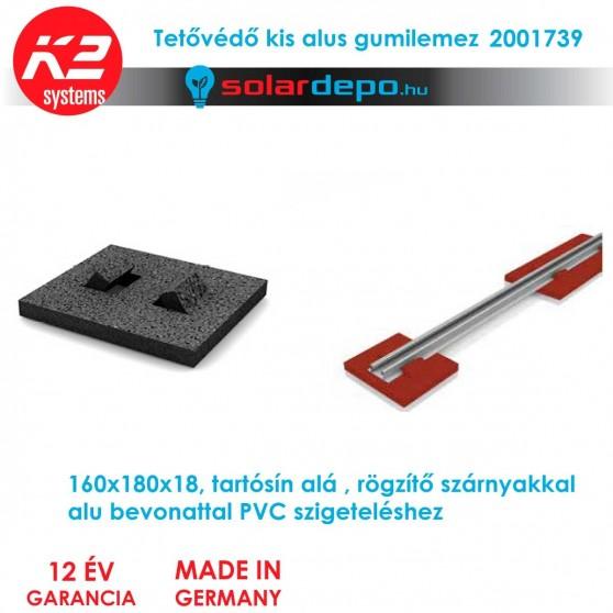 K2 Systems 2001739 Gumilemez kicsi alus