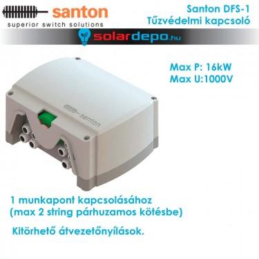 Santon DFS-1 tűzvédelmi kapcsoló