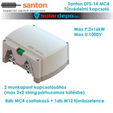 Santon DFS-14 MC4 tűzvédelmi kapcsoló