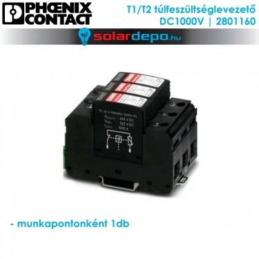 Phoenix Contact T1/T2 típusú túlfeszültséglevezető 1000V