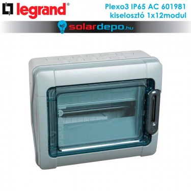 Legrand Plexo3 AC IP65 doboz 1x12 modulhoz