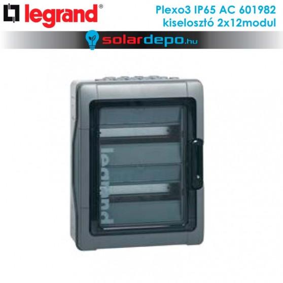 Legrand Plexo3 AC IP65 doboz 2x12 modulhoz