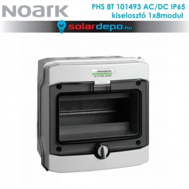 Noark PHS 8T AC/DC 1000V doboz 1x8 modul