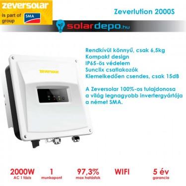 Zeversolar Zeverlution 2000S