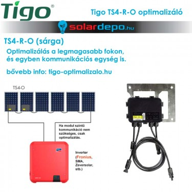 Tigo TS4-R-O sárga optimalizáló
