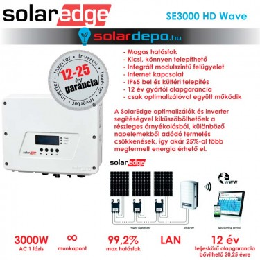 SolarEdge SE3000 HD wave