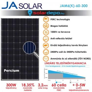 JA Solar 300W mono PERC
