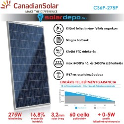 CanadianSolar CS6P-275W