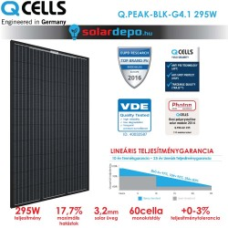 QCELLS QPEAK BLK G4.1 295W full fekete