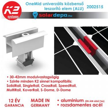 K2 Systems 2002515 OneMid ALU Univerzális közbenső leszorító szett 32-42mm