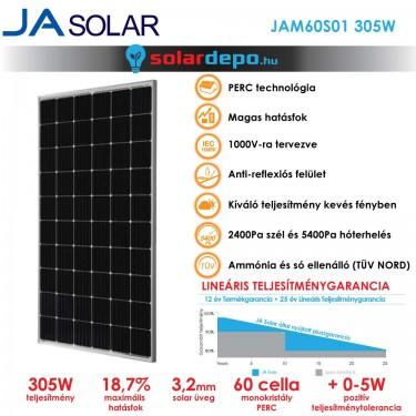 JA Solar 305W mono PERC