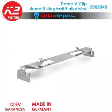 K2 Systems 2002848 Dome V Clip kiemelő kiegészítő alkatrész
