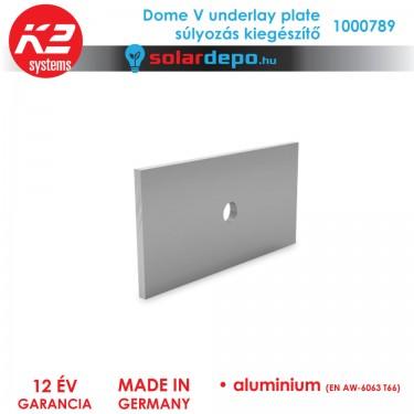K2 Systems 1000789 Dome V underlay plate súlyozás kiegészítő