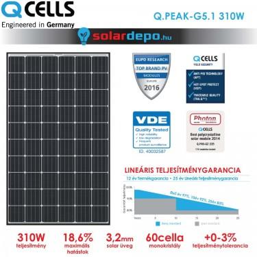 QCELLS QPEAK G5.1 310W
