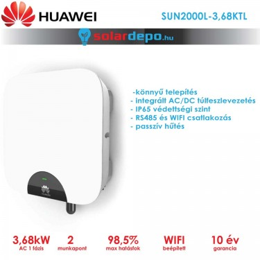Huawei SUN2000L-3,68KTL