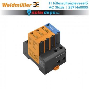 Weidmüller T1 típusú túlfeszültséglevezető 3fázis