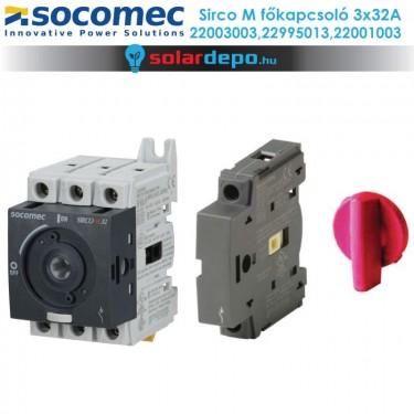Socomec Sirco M 32A 3fázis főkapcsoló