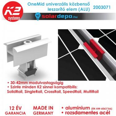K2 Systems 2003072 OneMid ALU Univerzális közbenső leszorító szett 30-42mm