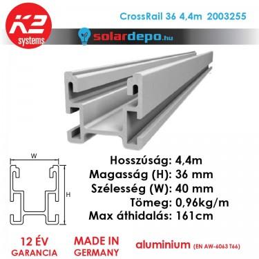 K2 Systems 2003255 CrossRail 36 4,4m