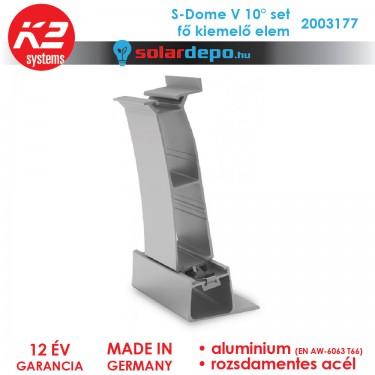 K2 Systems 2003177 Dome V 10° Set fő kiemelő elem