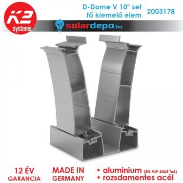 K2 Systems 2003178 D-Dome V 10° Set fő kiemelő elem