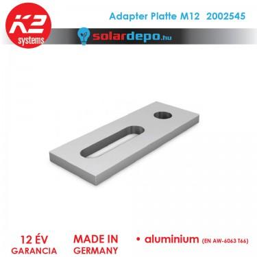 K2 Systems 2002545 Adapter platte M12