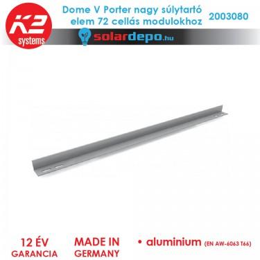 K2 Systems 2003080 Dome V Porter nagy súlytartó elem 72 cellás modulokhoz