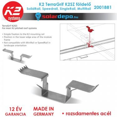 K2 Systems 2001881 K2 TerraGrif K2SZ földelő