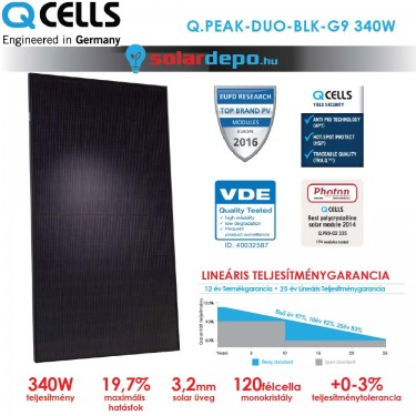 QCELLS QPEAK DUO BLK-G9 340W
