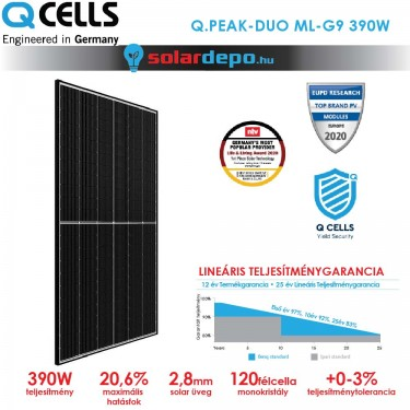 QCELLS QPEAK DUO ML-G9 390W