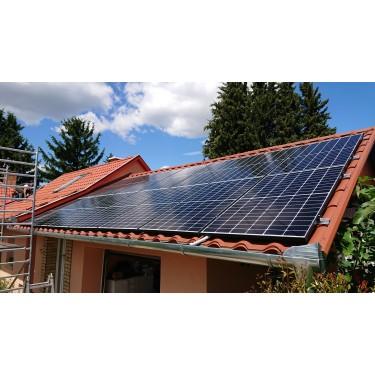 Kulcsrakész napelemes rendszer 1 fázis 5kW Huawei cseréptetőre
