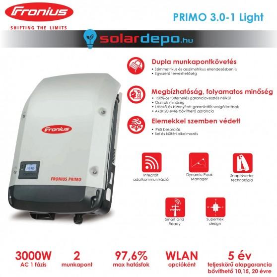 Fronius Primo 3.0-1 Light 2MPP