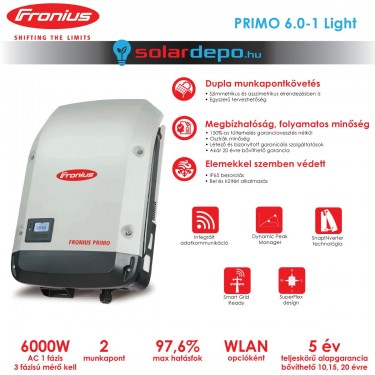 Fronius Primo 6.0-1 Light 2MPP